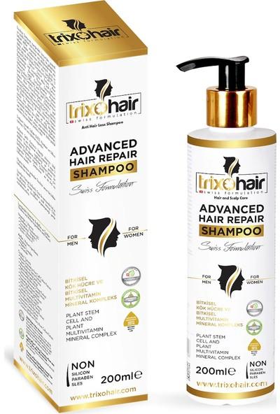 Trixohair Saç Dökülmesine Karşı Saç Bakım Şampuanı Erkekler İçin 200 ml