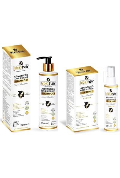 Trixohair Saç Dökülmesine Karşı Saç Bakım Şampuanı ve Saç Serumu Erkekler İçin 200 ml + 60 ml