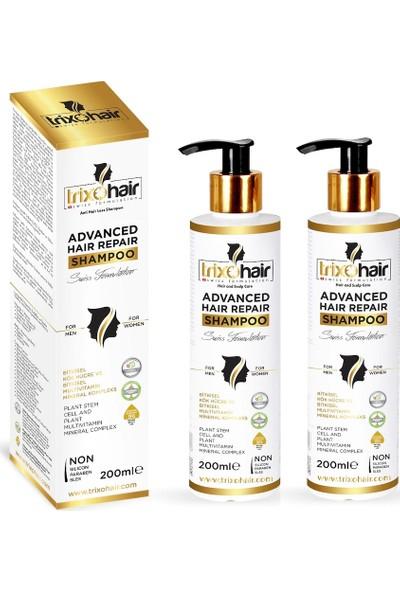 Trixohair Saç Dökülmesine Karşı Saç Bakım Şampuanı Erkekler İçin 200 ml 2'li