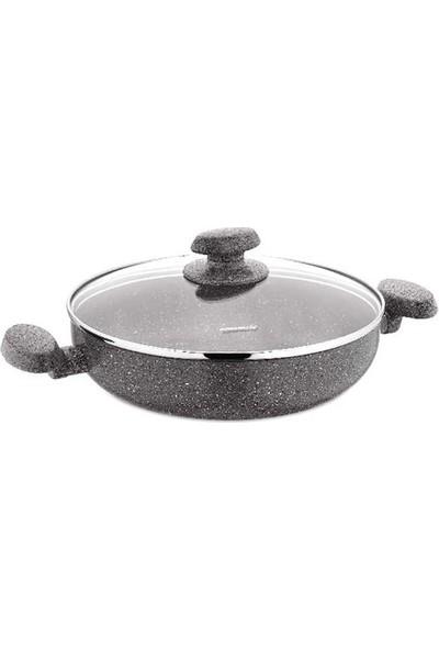 Korkmaz A2808 Mia Granit Kısa 24 cm Tencere