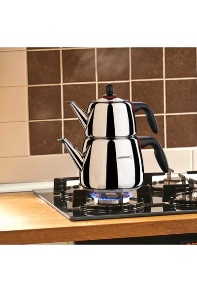 Korkmaz A060 Gusto Çaydanlık Takımı