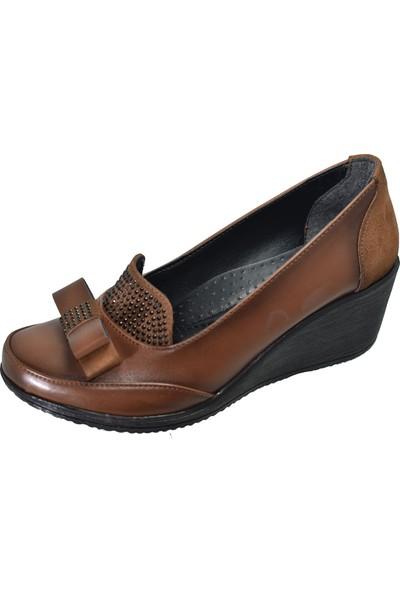 Mavişim 33 Dolgu Taban Siyah Kadın Günlük Ayakkabı
