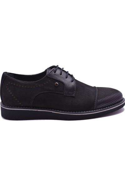 Ayakkabı Burada 2020-18 Deri Nubuk Erkek Günlük Ayakkabı