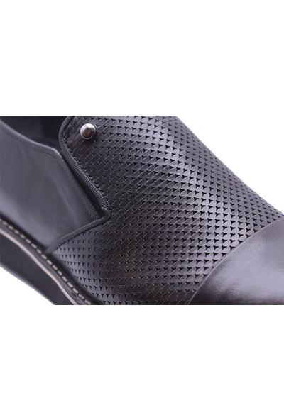 Ayakkabı Burada 2020-63 Deri Erkek Günlük Ayakkabı