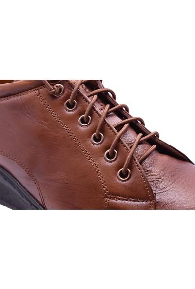 Ayakkabı Burada 1416 Ortopedi Deri Kadın Günlük Ayakkabı