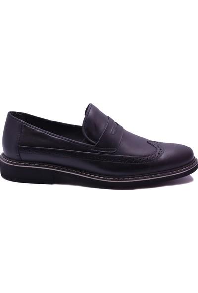 Ayakkabı Burada 2020-78 Spor Klasik Deri Erkek Ayakkabı