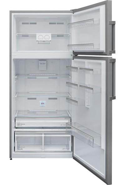 Vestel NF640 Ex A++ 640 lt No-Frost Buzdolabı Inox