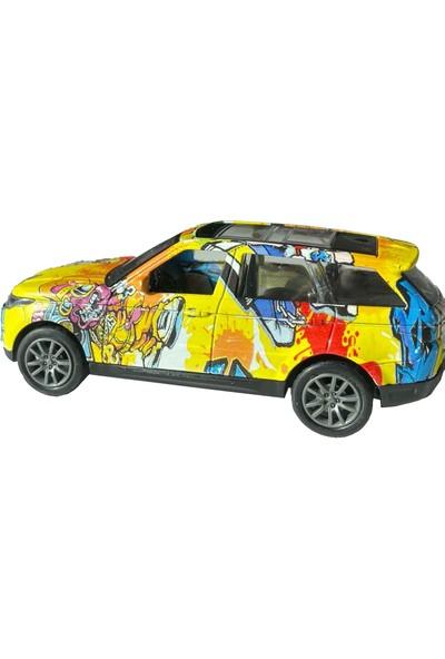 Crasshgo Grafiti 1:36 Metal 4x4 Suv Çek-Bırak
