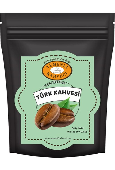 Yemenli Kahveci Türk Kahvesi 1 kg