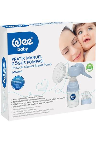 Wee Baby Manuel Göğüs Pompası + Klasik Plus Cam Biberon Set
