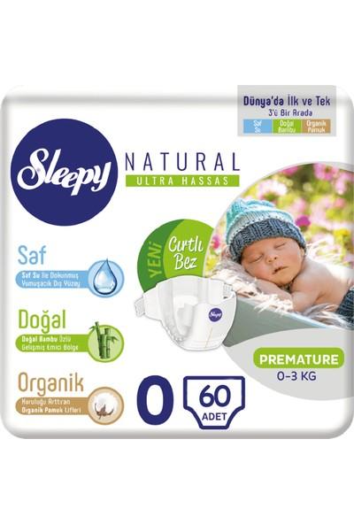 Sleepy Bebek Bezi 0 Numara Prematüre 30*2 60 0-3 KG