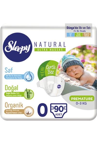 Sleepy Bebek Bezi 0 Numara Prematüre 30*3 90 0-3 KG