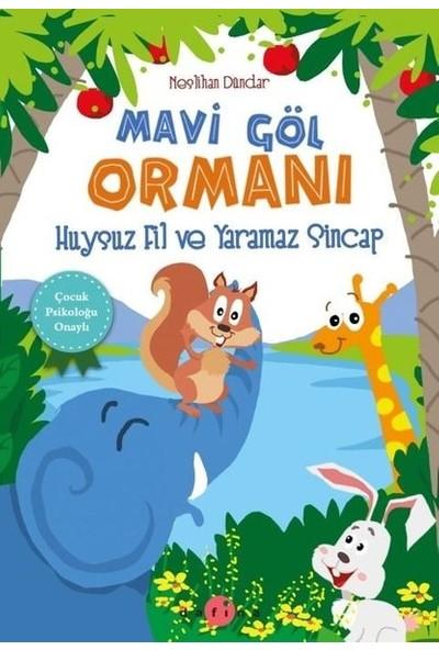 Mavi Göl Ormanı Huysuz Fil ve Yaramaz Sincap - 6 - 9 Yaş