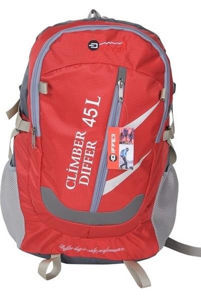 Differ Dağcı Çantası Ste 1618 45 lt - Kırmızı