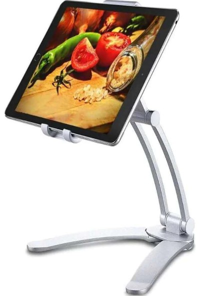 Fujimax Alimünyum Alaşımlı Askılı Profesyonel Telefon Tablet Standı Duvar ve Masa Için