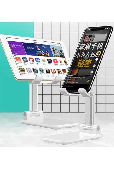 Fujimax Alimunyum Alaşımlı Profesyonel Cep Model Ayarlanabilir Tablet ve Telefon Tutucu