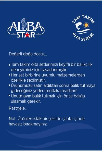 Albastar Tam Takım Hobi Spin Atçek Olta Seti TTS008