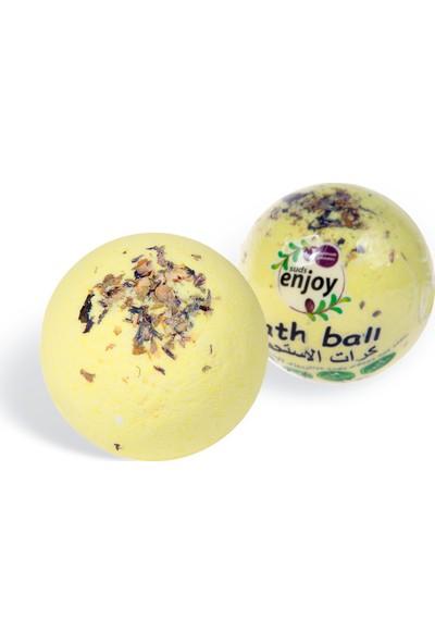 Suds Enjoy Banyo Topu Doğal Papatya El Yapımı Banyo Bombası 100 gr x 2 Adet