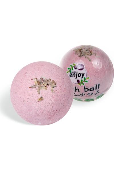 Suds Enjoy Banyo Topu Doğal Lavanta El Yapımı Banyo Bombası 100 gr x 2 Adet