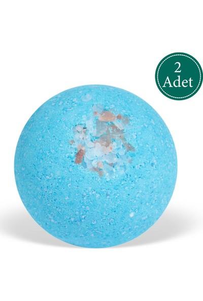 Suds Enjoy Banyo Topu Doğal Himalaya Tuzlu El Yapımı Banyo Bombası 100 gr x 2 Adet