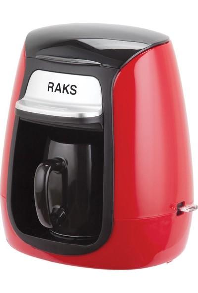 Raks Luna Kırmızı Kahve Makinesi