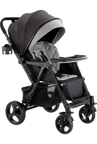 Baby2go Smart Çift Yön Bebek Arabası Gri