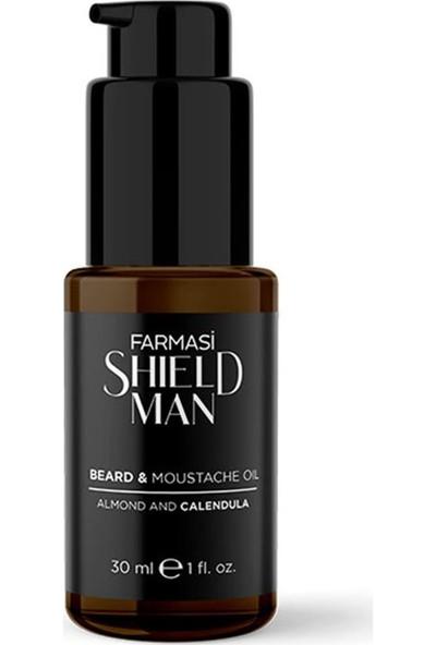 Farmasi Shield Man Sakal ve Bıyık Bakım Yağı 30 Ml.