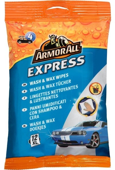 Armor All Express Yıkama ve Cilalama Mendili