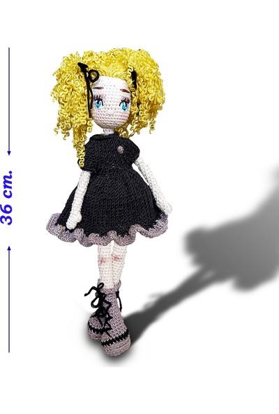 Binbir Baby Parti Kızı Miti Amigurumi Oyuncak Kız Bebek - 36 cm