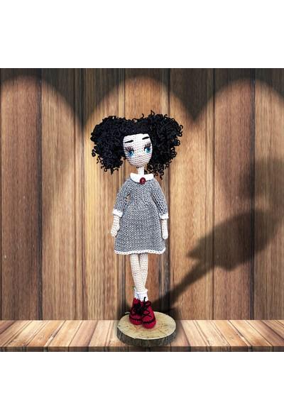 Binbir Baby Kolejli Miti Amigurumi Oyuncak Kız Bebek - 39 cm