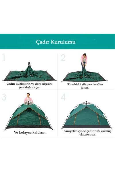Xolo 7 Kişilik Çekmeli Otomatik Kamp Çadırı