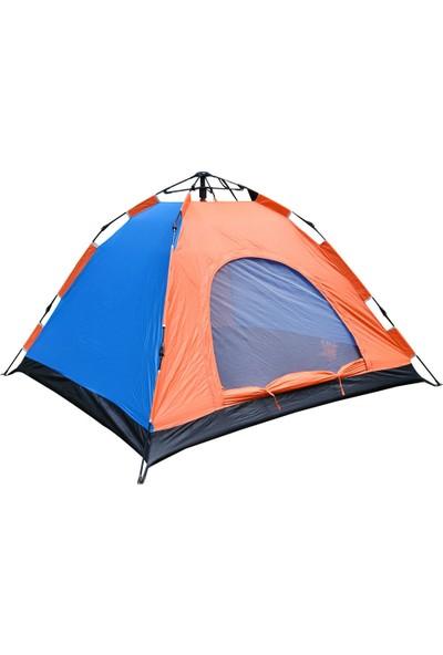 Xolo Kendinden Işıklı 2 Kişilik Çekmeli Otomatik Kamp Çadırı