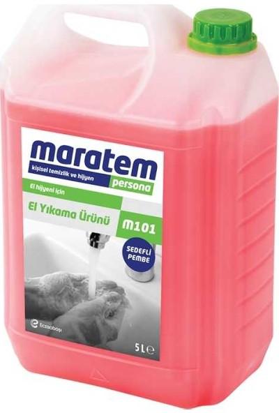 Maratem M101 Sıvı El Sabunu 5 lt x 4 Adet
