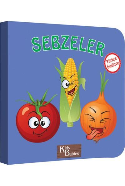 Kids Babies Sebzeler Türkçe - İngilizce