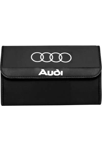 Dekohop Audi Uyumlu Oto Bagaj Organizeri Deri Bagaj Kutu Çanta