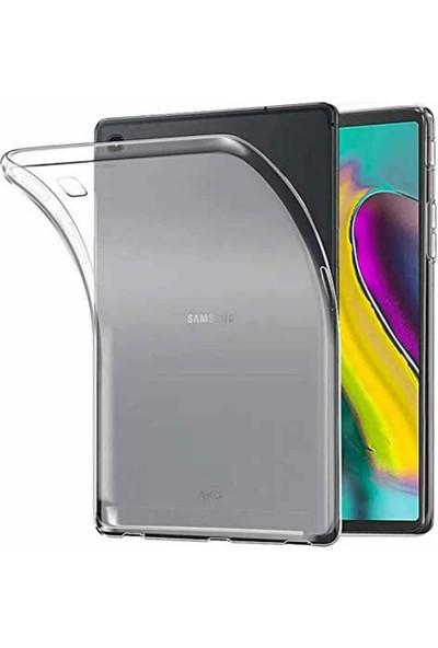 "E-Depo Samsung Galaxy Tab A (T510) 10.1"" Kılıf Şeffaf Silikon Arka Kapak"
