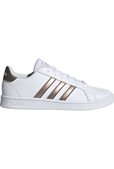 Adidas Grand Court Beyaz Kız Çocuk Sneaker Ayakkabı