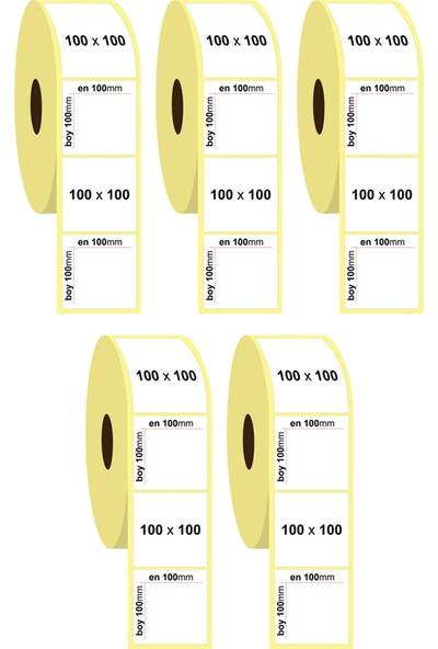 Godex EZ120 Barkod Yazıcı + 5 Rulo 100x100 Kargo Etiketi
