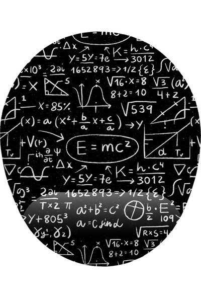 İyi Fikirler E=mc2 Formüller Bilek Destekli Mouse Pad