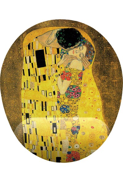 İyi Fikirler Gustav Klimt Kiss Bilek Destekli Mouse Pad