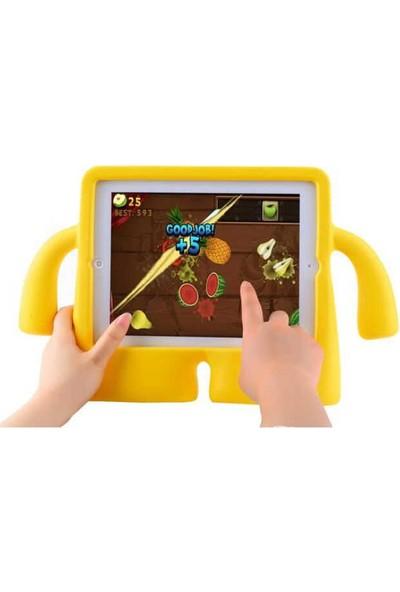 """Fibaks Apple iPad Mini 3. Nesil (2014) 7.9"""" Kılıf Yumuşak Dokulu Standlı Silikon Kids"""