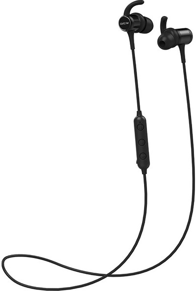 Qcy M1C Spor Su Geçirmez Gürültü Engelleyici Bluetooth Kulaklık Manyetik Bluetooth 5.0 Apple Xiaomi İçin (Yurt Dışından)
