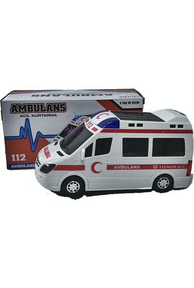 Ardahan Ticaret Ambulans Oyuncak Araba