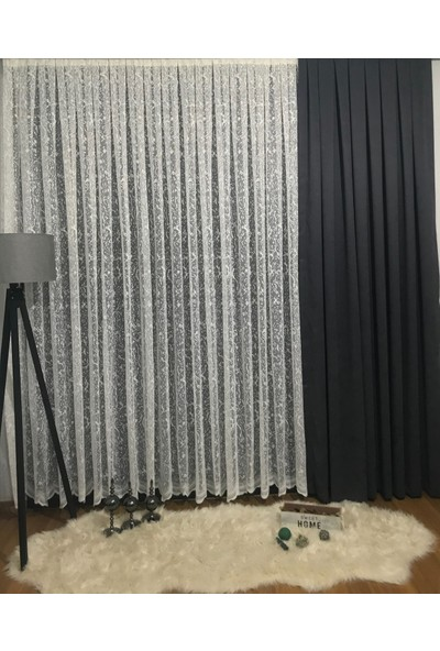 Taç Merve Tül Perde 1/3 Pile 100 x 180 cm