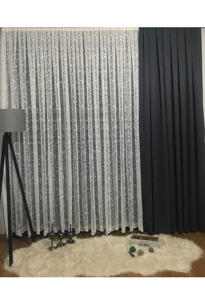 Taç Merve Tül Perde 1/2,5 Pile 600 x 180 cm
