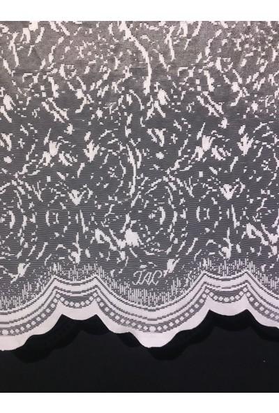 Taç Snow Tül Perde 1/2,5 Pile 600 x 180 cm