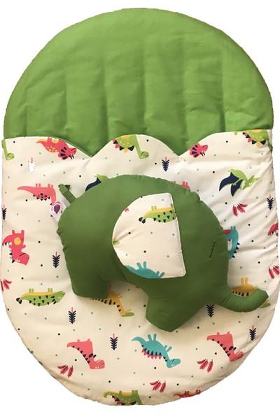 Daphne Kids Style Dinazor Uyku Tulumu + Fil Yastık