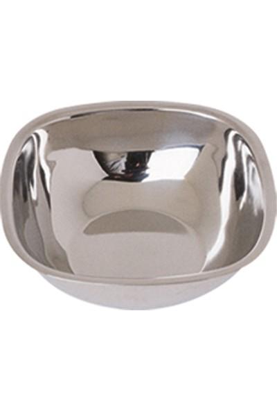 Özbir Paslanmaz Çelik Kare Kase 12 cm