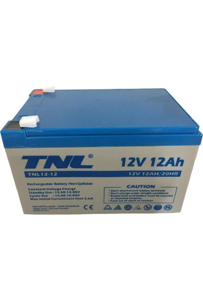 TNL 12V 12AH Kuru Tip Akü