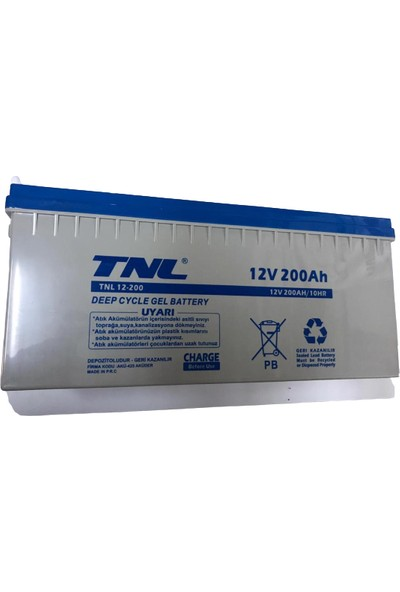 TNL 12V 200AH Jel Akü